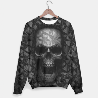 Thumbnail image of Geometric Skull Sweater, Live Heroes