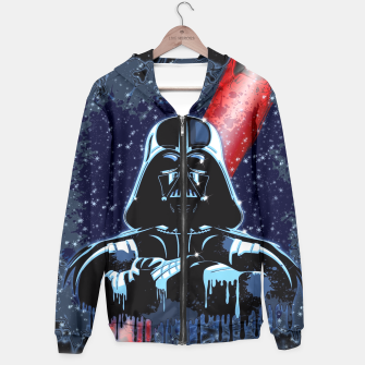 Thumbnail image of Darth Vader Mask Hoodie, Live Heroes