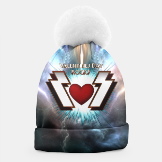 Thumbnail image of Valentines Day Rocks Beanie, Live Heroes