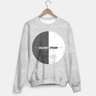Thumbnail image of Analogvisions graphic Sweater, Live Heroes