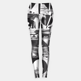 Thumbnail image of Analogvisions Graphic Leggings, Live Heroes