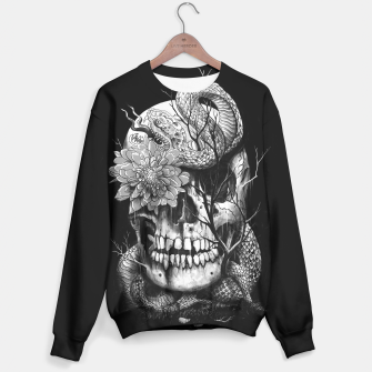 Thumbnail image of Snake and Skull Sweater, Live Heroes
