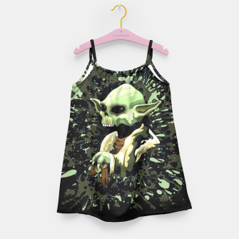 Thumbnail image of Skull Yoda Jedi Girls Dress, Live Heroes
