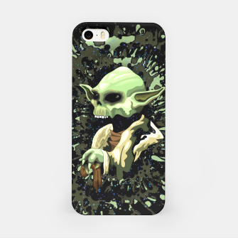 Thumbnail image of Skull Yoda Jedi iPhone Case, Live Heroes