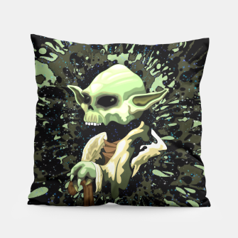 Thumbnail image of Skull Yoda Jedi Master Pillow , Live Heroes
