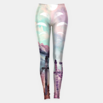 Thumbnail image of Page of Swords Leggings, Live Heroes