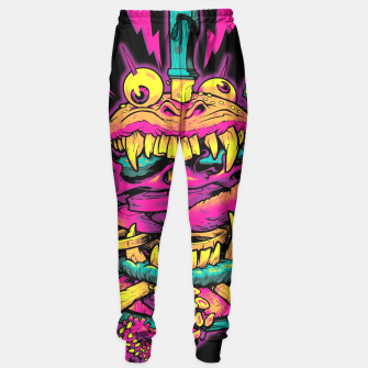Thumbnail image of BEASTBURGER sweatpants, Live Heroes