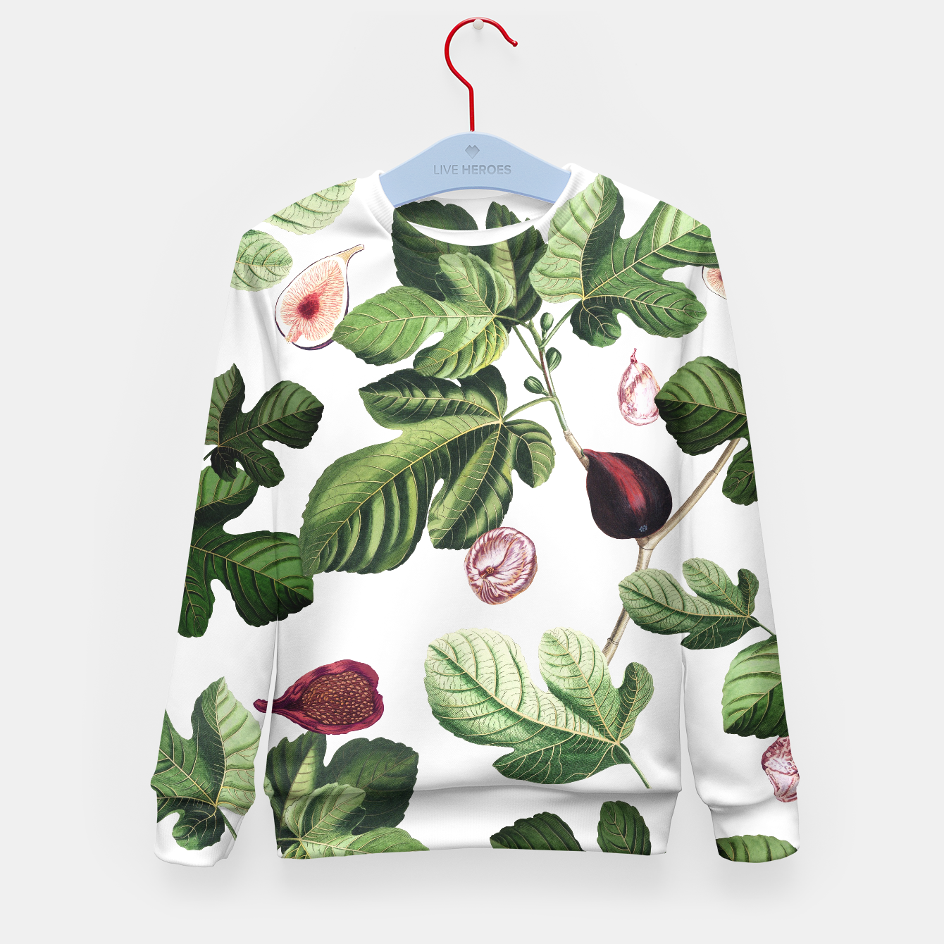 Image of Fig Kid Sweater - Live Heroes