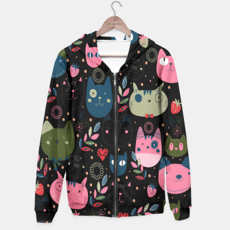 Thumbnail image of Cute Cat Heads Pattern , Live Heroes
