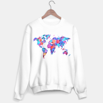 Miniaturka Floral World Map Sweater, Live Heroes