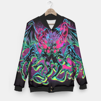 Thumbnail image of COSMIC HORROR Baseball Jacket, Live Heroes