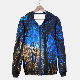 magical forest Cotton zip up hoodie thumbnail image