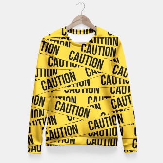 CAUTION Fitted Waist Sweater thumbnail image