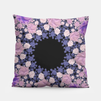 Thumbnail image of Purple & Black Pillow, Live Heroes