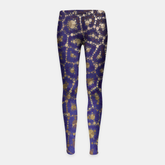 Imagen en miniatura de Golden Cheetah Kids Leggings , Live Heroes