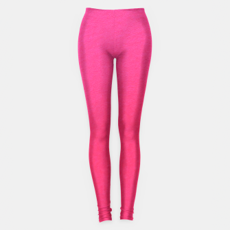 Thumbnail image of Neon Pink Textured Leggings , Live Heroes