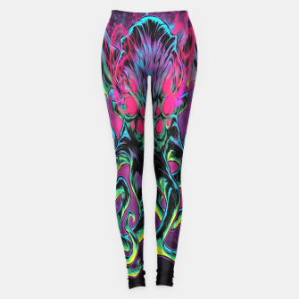Thumbnail image of COSMIC HORROR Leggings, Live Heroes