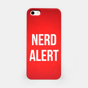 Thumbnail image of Nerd Alert iPhone Case, Live Heroes