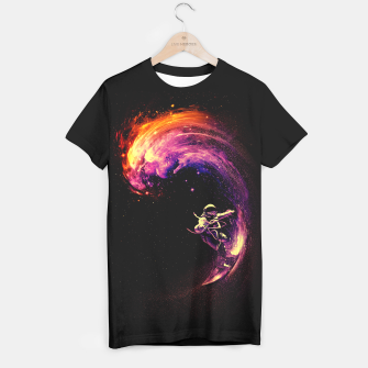 Thumbnail image of Space Surfing T-shirt, Live Heroes