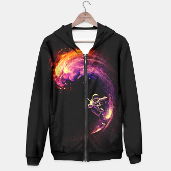 Thumbnail image of Space Surfing Hoodie, Live Heroes