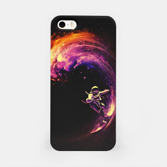 Thumbnail image of Space Surfing iPhone Case, Live Heroes