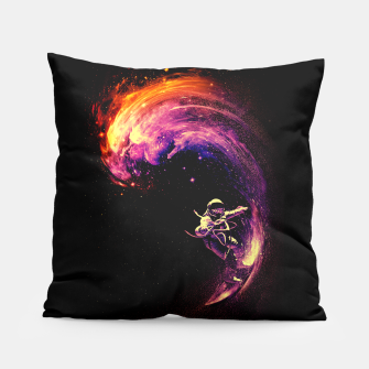 Thumbnail image of Space Surfing Pillow, Live Heroes