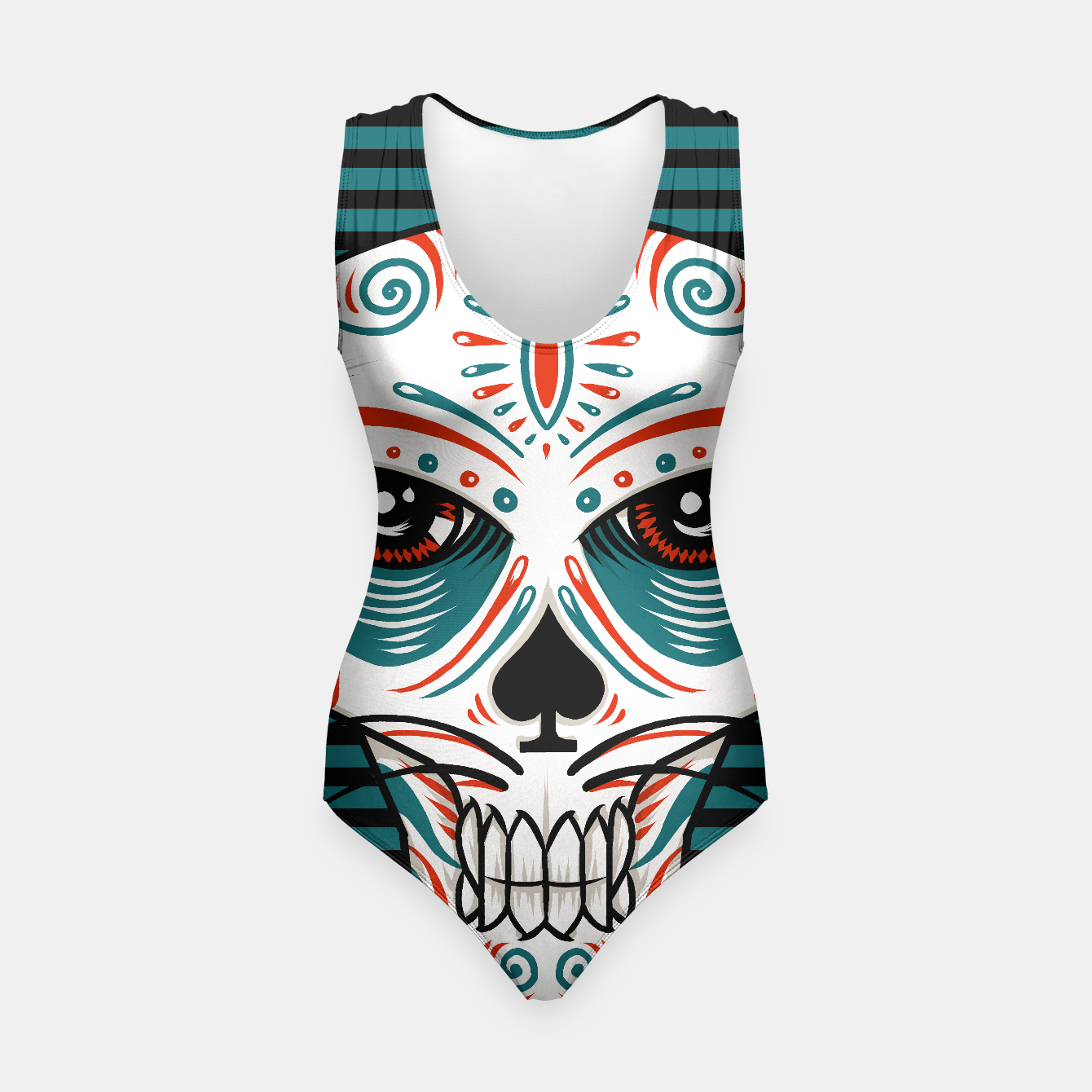 Image of Mexican cat skull - Live Heroes