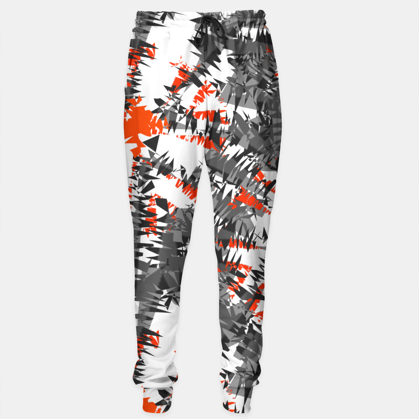 Image of Abstract Ikat Funky Orange Mix - Live Heroes