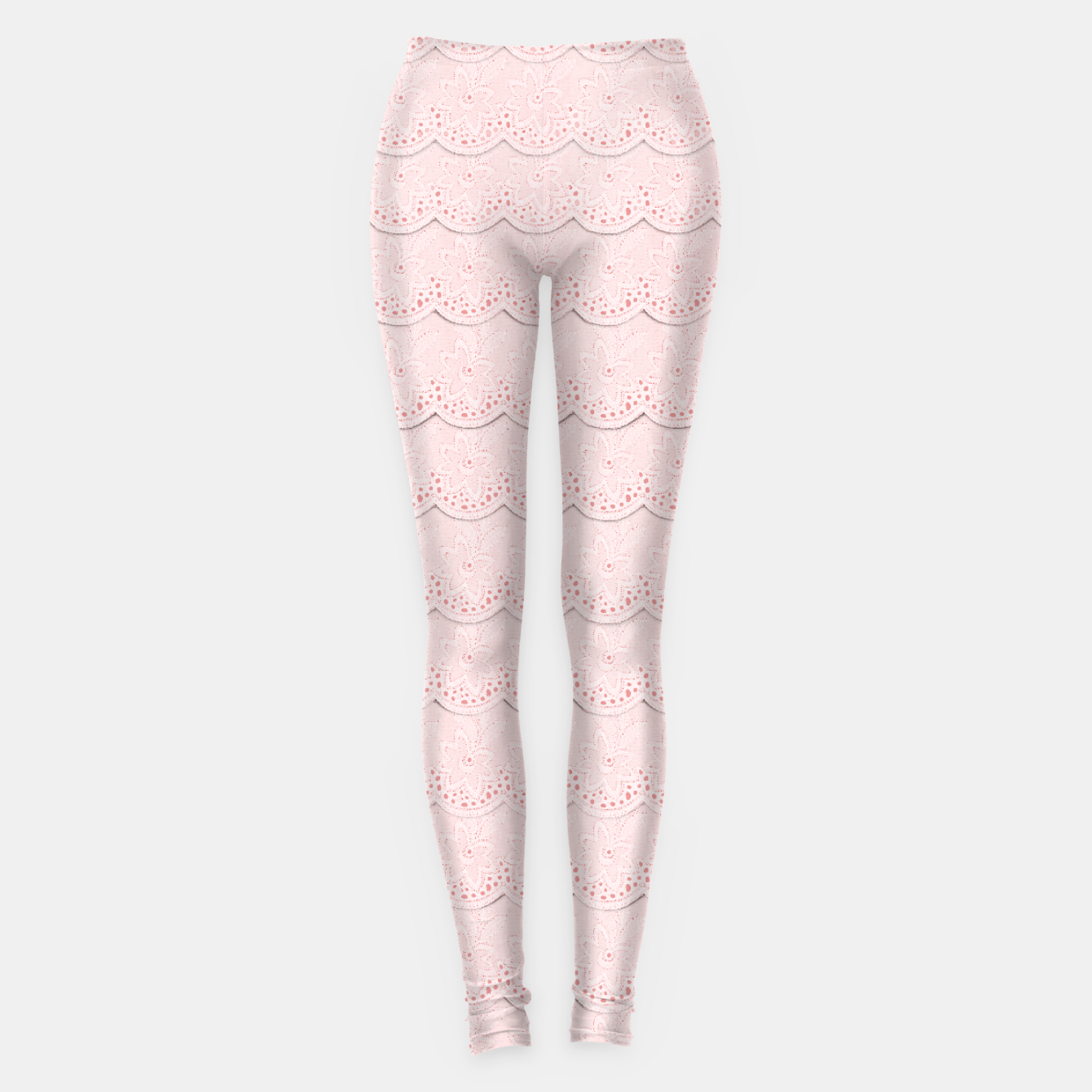 Image of  Rose Quartz Pink Faux Lace - Live Heroes