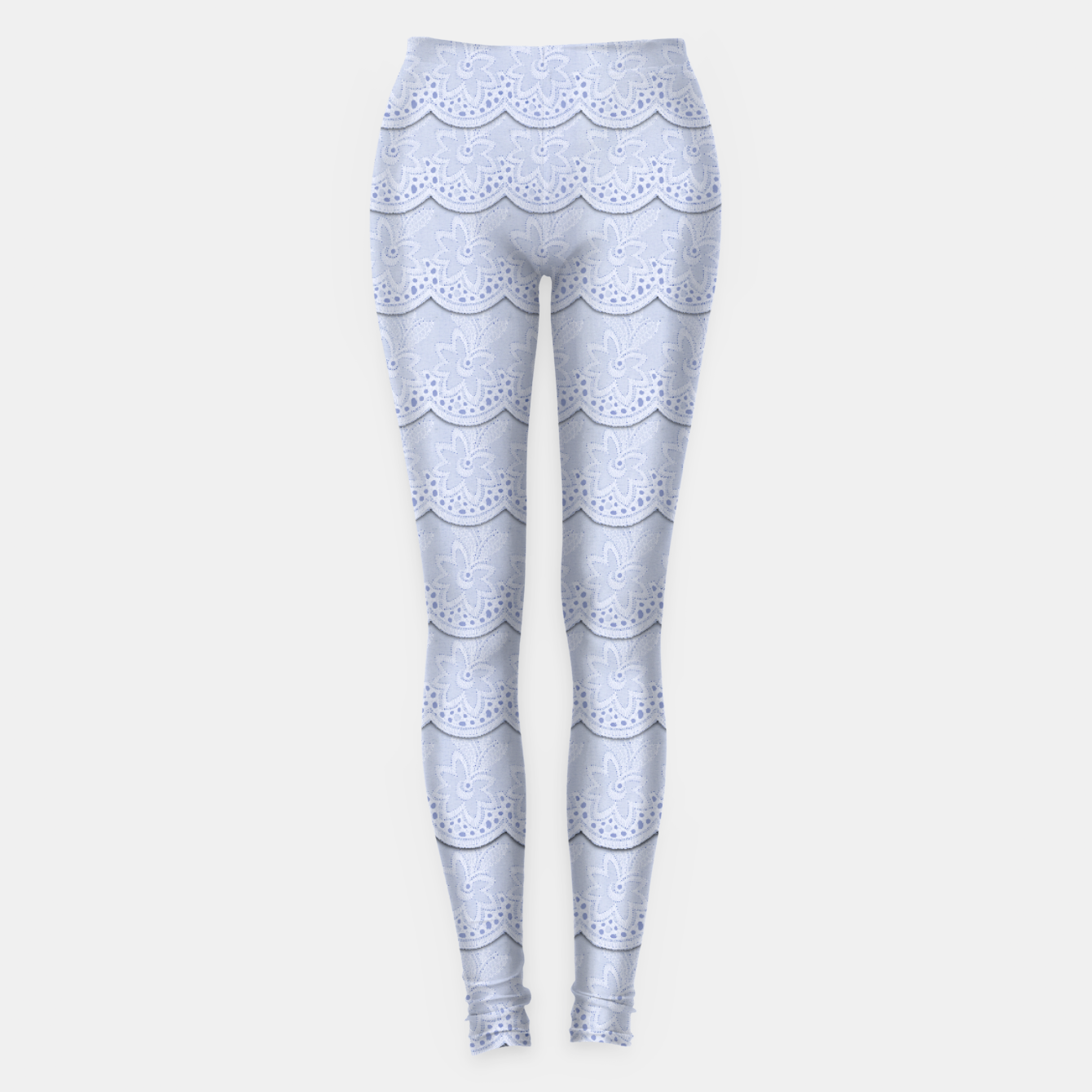 Image of Serenity Blue Faux Lace - Live Heroes
