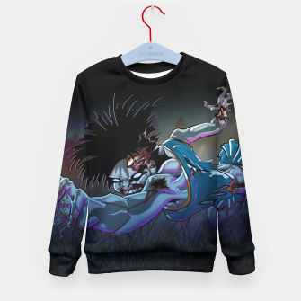 Thumbnail image of Zombie Cheerleader Kid's Sweater, Live Heroes