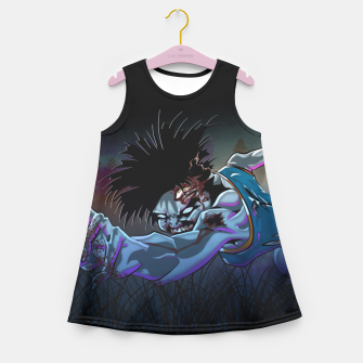 Thumbnail image of Zombie Cheerleader Girl's Summer Dress, Live Heroes