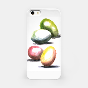 Thumbnail image of Easter egg watercolor iphone case 1, Live Heroes