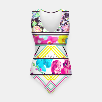 Thumbnail image of Flower Aztec Swimsuit, Live Heroes