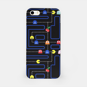 Miniatur Pacmania iPhone Case, Live Heroes