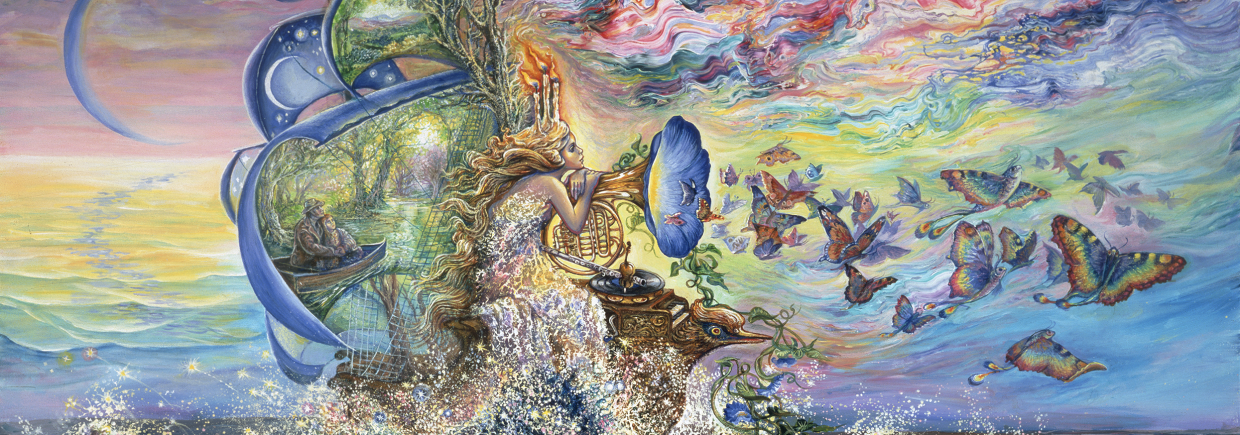 Josephine Wall background image, Live Heroes