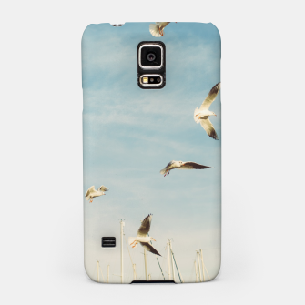 Miniatur Seagulls Flying In The Air Samsung Case, Live Heroes