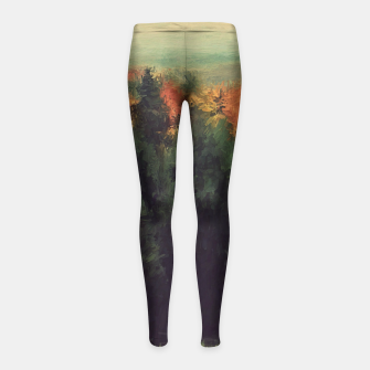 Imagen en miniatura de New England Autumn Girl's Leggings, Live Heroes