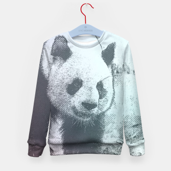 Thumbnail image of Sketchy Panda Kid's Sweater, Live Heroes