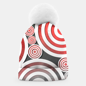 Thumbnail image of Drop Red Beanie, Live Heroes