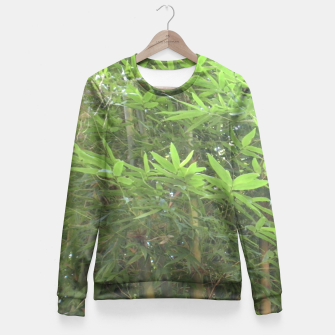 Thumbnail image of Bamboo 0413 Fitted Waist Sweatshirt, Live Heroes
