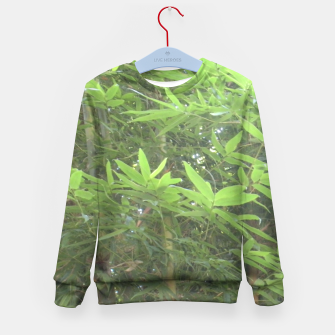 Thumbnail image of Bamboo 0413 Kid's Sweater, Live Heroes