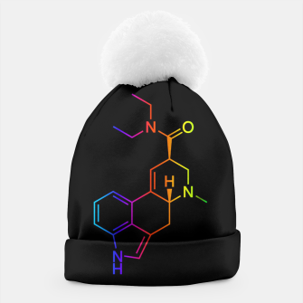 Thumbnail image of LSD Molecule Colored Beanie, Live Heroes