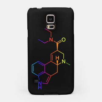 Thumbnail image of LSD Molecule Colored Samsung Case, Live Heroes