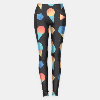 Thumbnail image of Cosmic Cream Leggings, Live Heroes