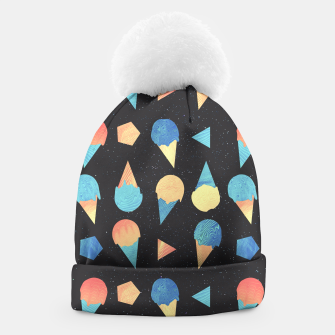 Thumbnail image of Cosmic Cream Beanie, Live Heroes
