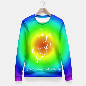 LSD Molecule Fitted Waist Sweater thumbnail image