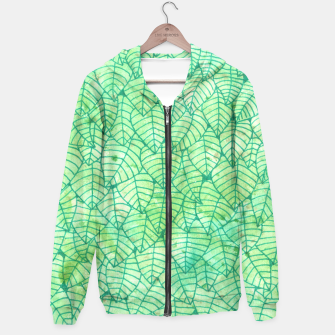 Thumbnail image of Green foliage Unisex Hoodie, Live Heroes