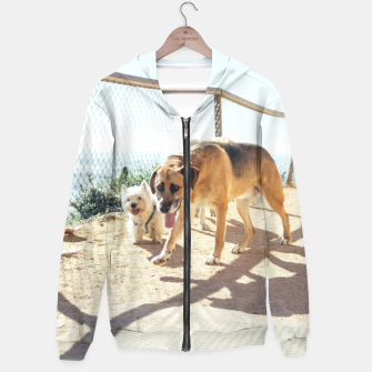 Thumbnail image of Dogs In The Sun Hoodie, Live Heroes