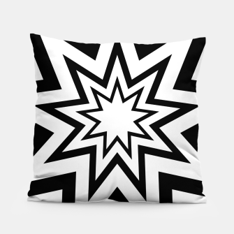 Thumbnail image of Tri-Enneagram Pillow, Live Heroes